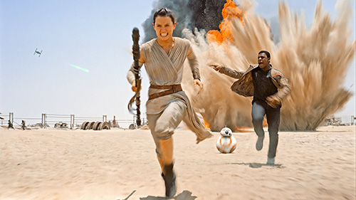 Abu Dhabi hosts Middle East premiere of Star Wars and world exclusive Jakku Experience