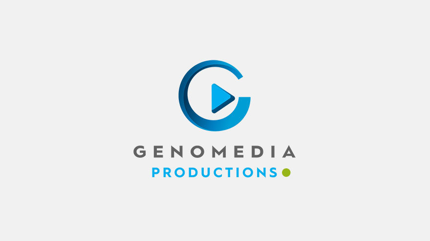 Logo of Genomedia Studios at the time of transfer of post-production facilities