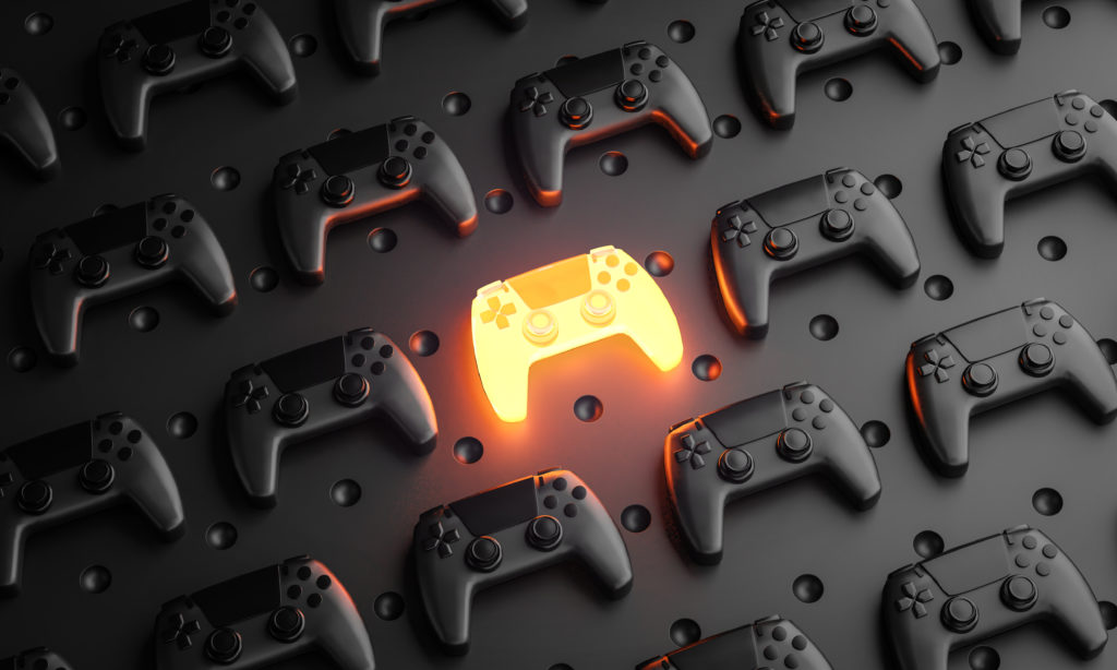 Gaming controllers business in Abu Dhabi